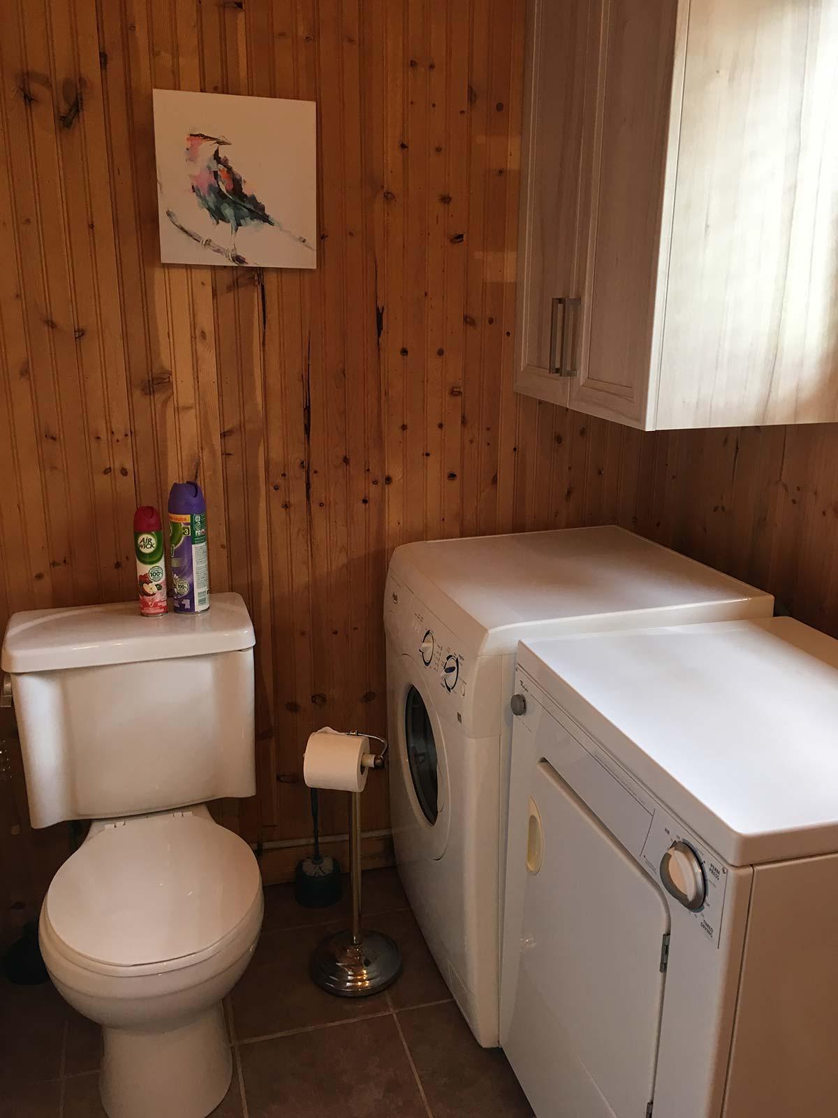 Chalet - Laveuse et sécheuse - Domaine Lac Louise Camping