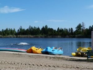 Plage - Domaine Lac Louise Camping